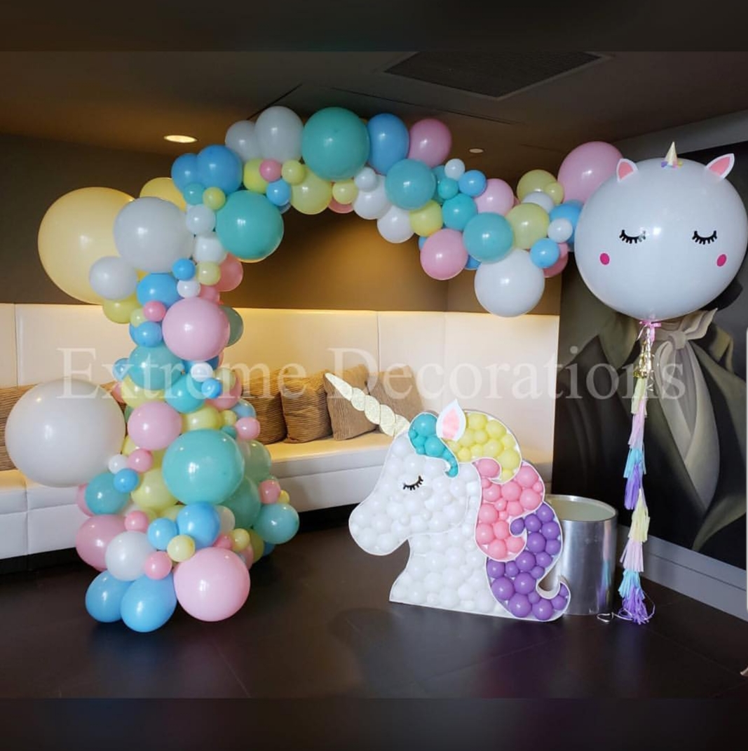 Unicorn Balloon arch