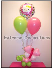 Hello Kitty Balloon party centerpiece model 6