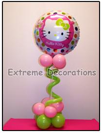 Hello Kitty Balloon party centerpiece model 7
