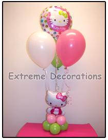 Hello Kitty Balloon party centerpiece model 9