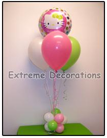 Hello Kitty Balloon party centerpiece model 2