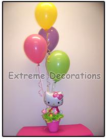 Hello Kitty Balloon party centerpiece model 5