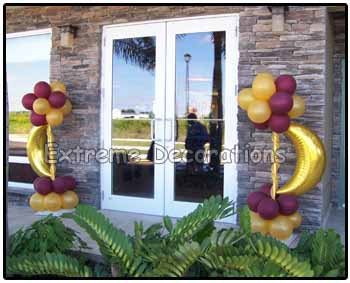 Grand Opening Balloon decoration entrance