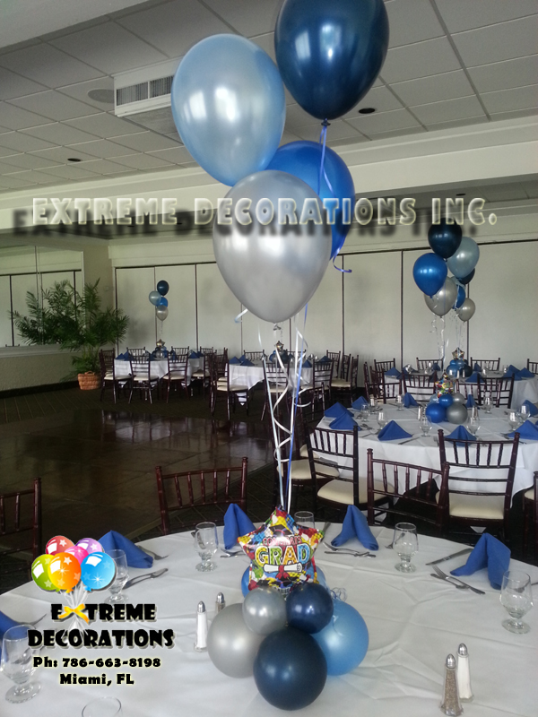 Graduation balloon decoration Miami