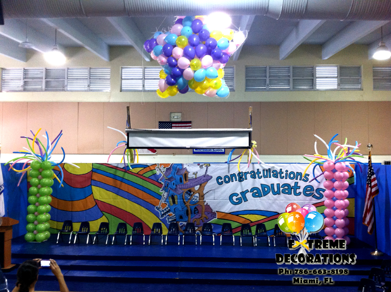 All the places we will go dr seuss graduation balloon decoration