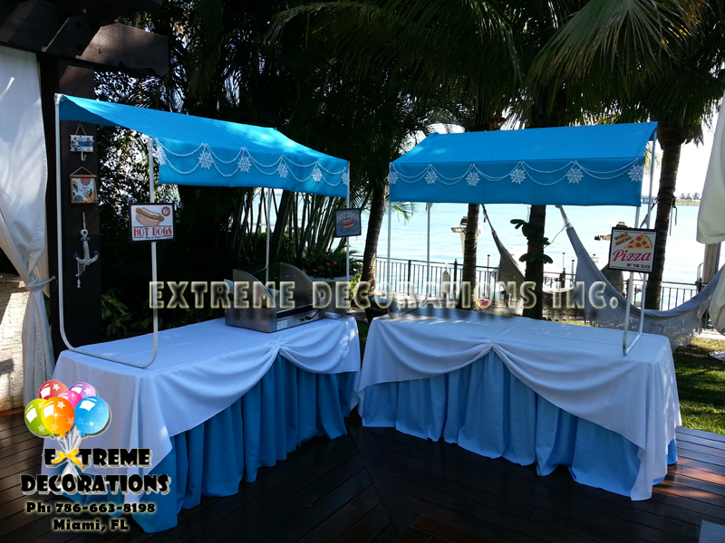 Food stands rental miami