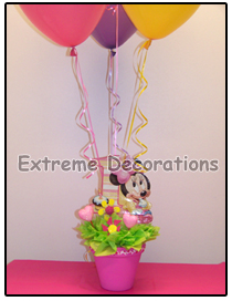 Minnie Mouse Birthday Party Centerpiece Model 7