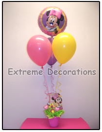 Minnie Mouse Birthday Party Centerpiece Model 6