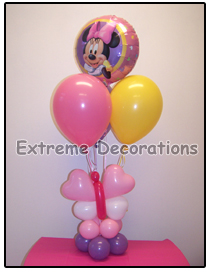 Minnie Mouse Birthday Party Centerpiece Model 5