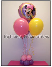 Minnie Mouse Birthday Party Centerpiece Model 4