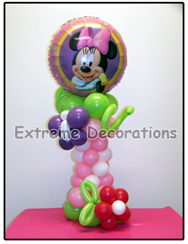 Minnie Mouse Birthday Party Centerpiece Model 3