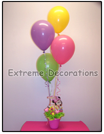 Minnie Mouse Birthday Party Centerpiece Model 8