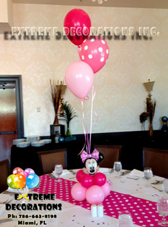 Kids Party Decorations Minnie Mouse centerpiece