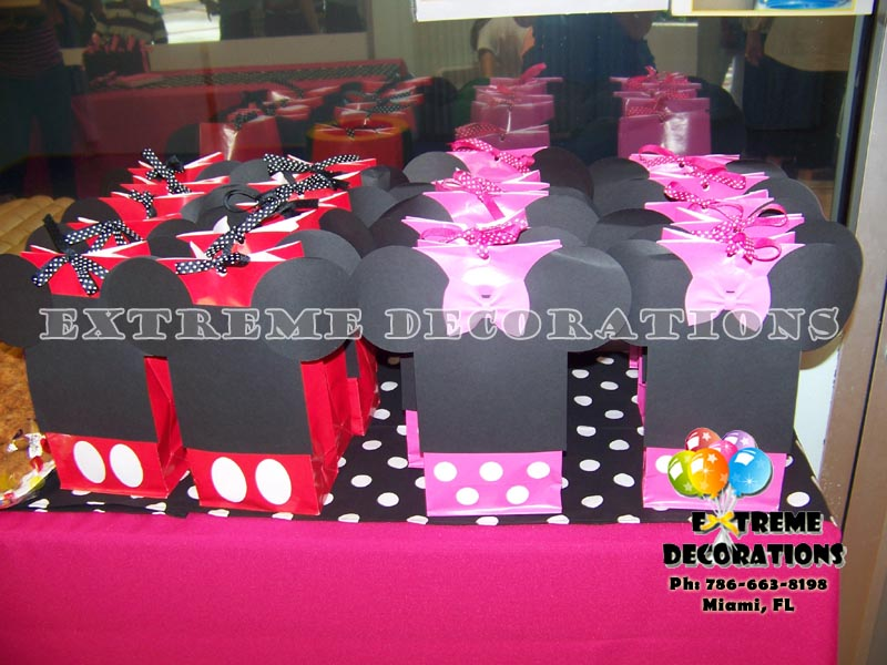 Mickey Minnie party favor ideas Miami