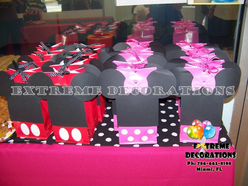 Mickey Minnie Party Favor Ideas Miami
