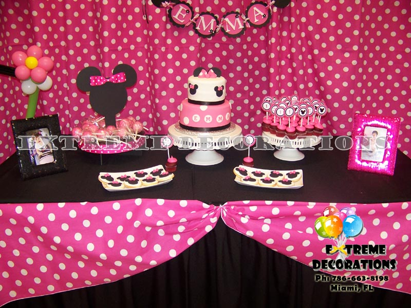 Minnie decoration ideas Miami