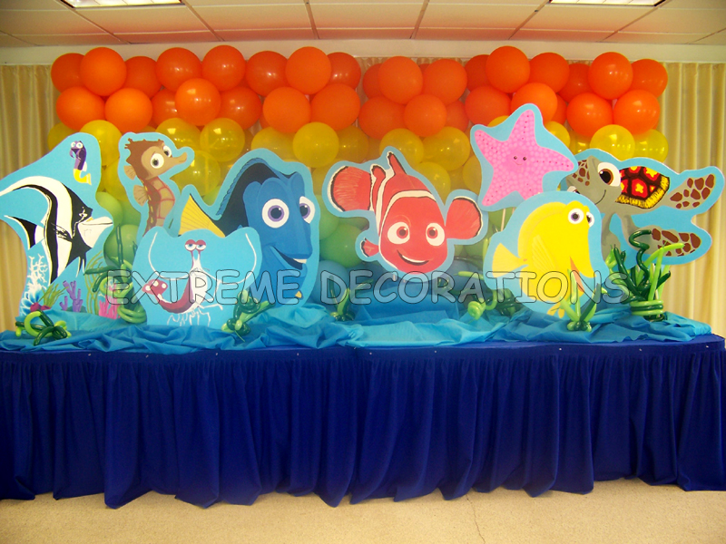 Birthday Cake Table Decoration Ideas : Party Decorations Miami Balloon Sculptures
