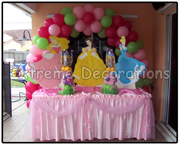 Princess Party Decoration Miami