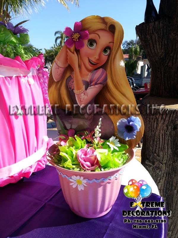 Tangled Rapunzel Centerpiece