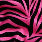 Tablecloth rental miami - hot pink zebra linen