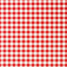 tablecloth rental miami - red gingham linen