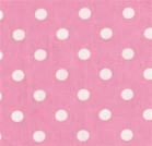 pink polka dot tablecloth linen rental miami