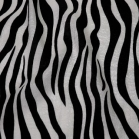 Tablecloth rental miami - zebra print linen