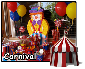 Carnival theme Balloon Decorations Miami