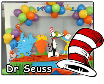 Dr Seuss Party Decorations