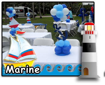marine nautical party decorations - Nautical Party Decorations