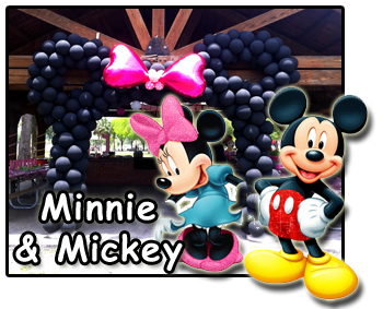 Mickey and Minnie Kids Party decorations