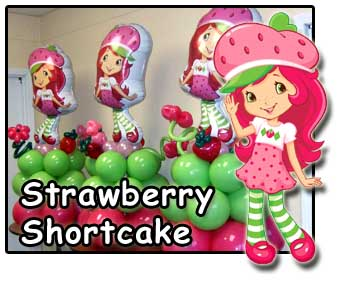 Strawberry Shortcake party decorations