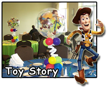 Toy story kids party decorations