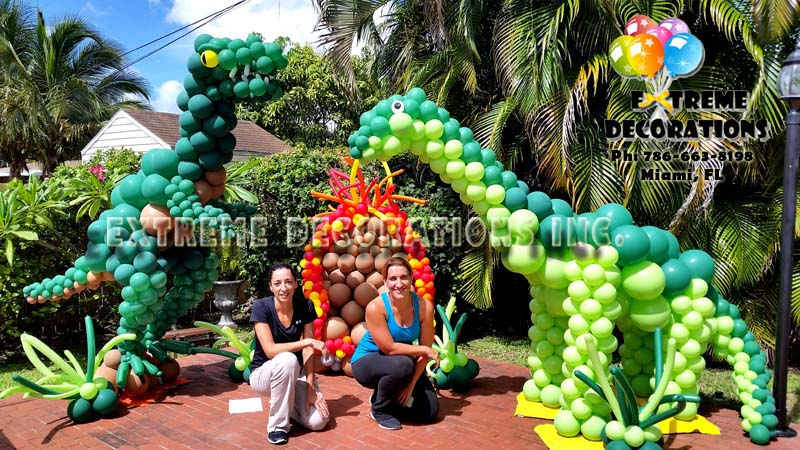 Jurassic World Balloon Decorations