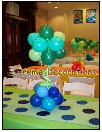balloon topiary Centerpiece